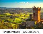 san miniato town panoramic view ... | Shutterstock . vector #1222067071