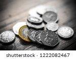 new great british pound gbp... | Shutterstock . vector #1222082467