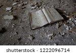 abandoned ledger   journal   Shutterstock . vector #1222096714