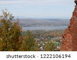 view of the hudson river valley ... | Shutterstock . vector #1222106194