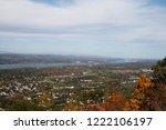 view of the hudson river valley ... | Shutterstock . vector #1222106197