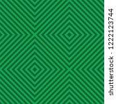 green square line pattern... | Shutterstock .eps vector #1222123744