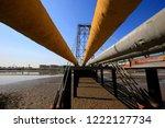 oil pipeline  the oil industry... | Shutterstock . vector #1222127734