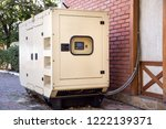 diesel generator emergency... | Shutterstock . vector #1222139371
