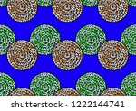 textile fashion  african print... | Shutterstock .eps vector #1222144741