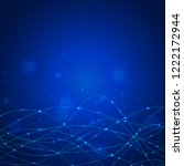 abstract vector background... | Shutterstock .eps vector #1222172944