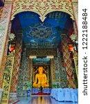 wat chet yod is a buddhist...   Shutterstock . vector #1222188484