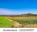 beautiful corn field in...   Shutterstock . vector #1222193557