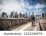 Brooklyn Bridge  New York  New...