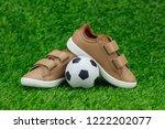 concept encourage children to... | Shutterstock . vector #1222202077