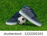 concept encourage children to... | Shutterstock . vector #1222202101