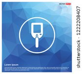 diabetes glucometer icons  ... | Shutterstock .eps vector #1222208407