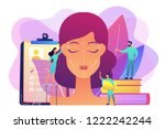 plastic surgeons working on... | Shutterstock .eps vector #1222242244