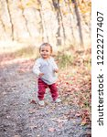 outdoor portrait of a beautiful ...   Shutterstock . vector #1222277407