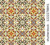 geometric seamless pattern ...   Shutterstock .eps vector #1222278841