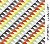 geometric seamless pattern ... | Shutterstock .eps vector #1222278844
