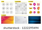 seamless pattern. shopping mall ... | Shutterstock .eps vector #1222295494