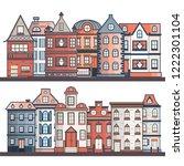 vector illustration with... | Shutterstock .eps vector #1222301104