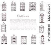 vector illustration with... | Shutterstock .eps vector #1222301107