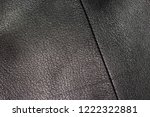 an old jacket made of genuine... | Shutterstock . vector #1222322881
