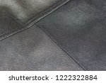 an old jacket made of genuine... | Shutterstock . vector #1222322884