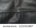 an old jacket made of genuine... | Shutterstock . vector #1222322887