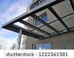 canopy with glass | Shutterstock . vector #1222361581