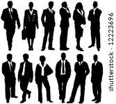 business people vector | Shutterstock .eps vector #12223696