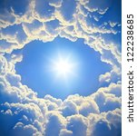 beautiful clouds | Shutterstock . vector #122238685