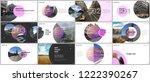 minimal presentations design ... | Shutterstock .eps vector #1222390267