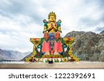 likir monastery is a buddhist... | Shutterstock . vector #1222392691