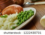 bangers and mash  english... | Shutterstock . vector #1222430731