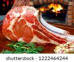 tomahawk meat raw | Shutterstock . vector #1222464244