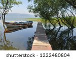 reflections on sapanca lake ... | Shutterstock . vector #1222480804