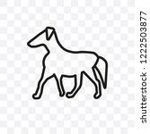 boston terrier dog vector... | Shutterstock .eps vector #1222503877