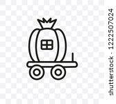 cinderella carriage vector...   Shutterstock .eps vector #1222507024