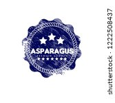 asparagus premium quality... | Shutterstock .eps vector #1222508437
