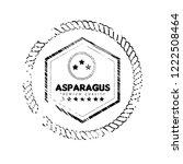 asparagus premium quality... | Shutterstock .eps vector #1222508464