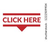 click here sign label. click... | Shutterstock .eps vector #1222509904