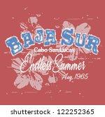 california surfing | Shutterstock .eps vector #122252365