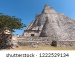 ruins of the ancient mayan city ... | Shutterstock . vector #1222529134