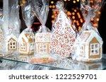 christmas decorations ...   Shutterstock . vector #1222529701