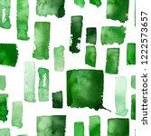 seamless pattern of watercolor... | Shutterstock . vector #1222573657