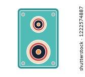 vector speakers illustration... | Shutterstock .eps vector #1222574887