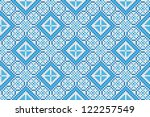 seamless embroidered good like... | Shutterstock .eps vector #122257549