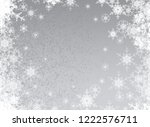 abstract snowflakes. 2d... | Shutterstock . vector #1222576711
