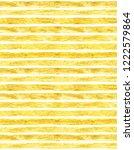 hand drawn golden paint striped ... | Shutterstock . vector #1222579864