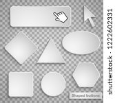shaped buttons with shadow on...