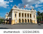 french built opera house in... | Shutterstock . vector #1222612831