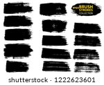large set different grunge... | Shutterstock .eps vector #1222623601